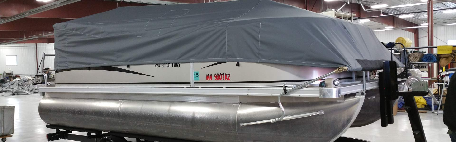 Sidewinder Pontoon Cover
