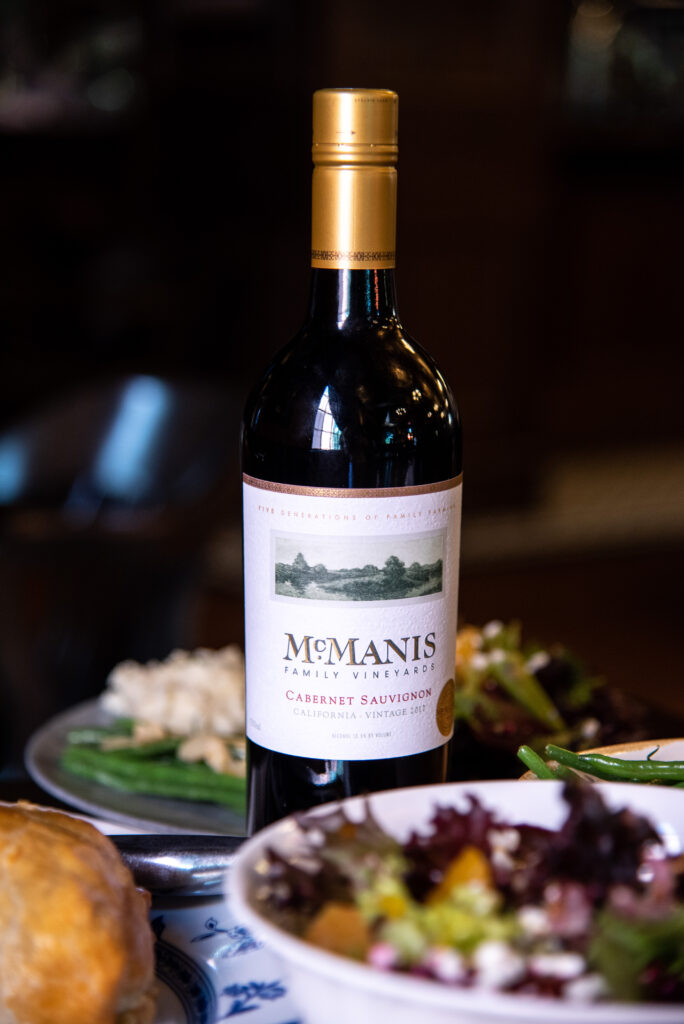 labour-day-take-home-family-meal-wine