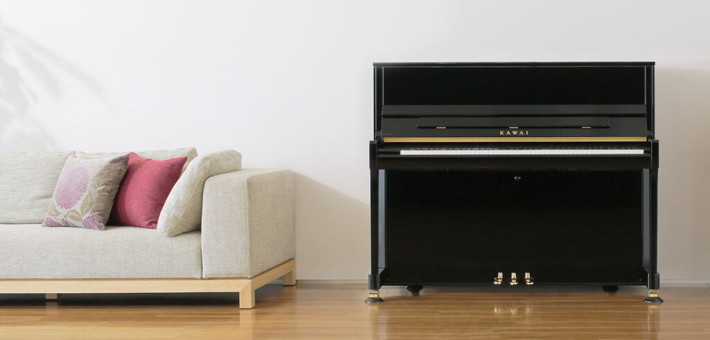 Upright piano Kawai Yamaha used new
