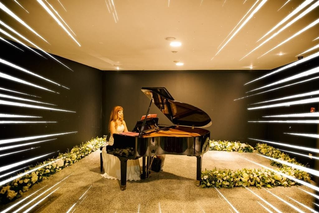 wedding piano rental