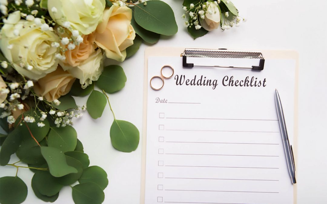 THE ULTIMATE STRESS LESS WEDDING CHECKLIST!