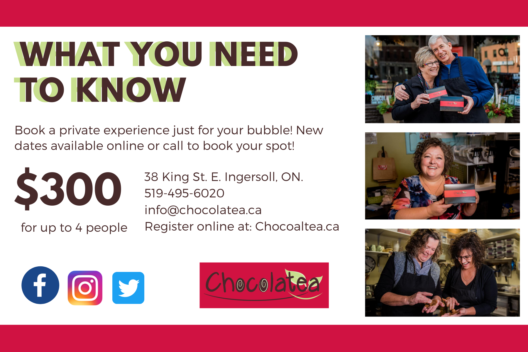 Truffle Camp Info - Chocolatea