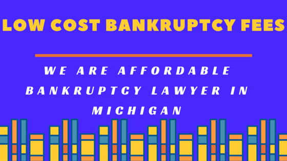 Low cost bankruptcy fees - Detroit Bankruptcy lawyer ,Affordable bankruptcy laywer
