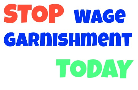 Stop Wage Garnishment today in michigan