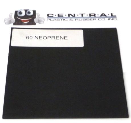 Neoprene Rubber - Black 50-60 Duro Products