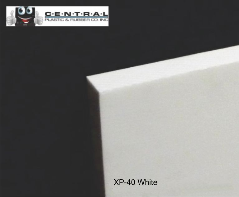 XP-40 Closed Cell-X-Linked Micro Cellular Polyethylene Black or White