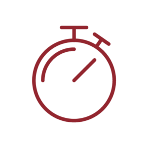 Icon of a stopwatch