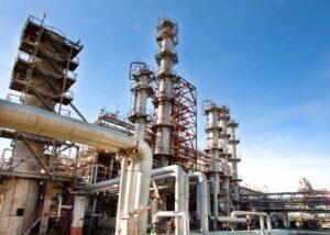 large modern oil rig