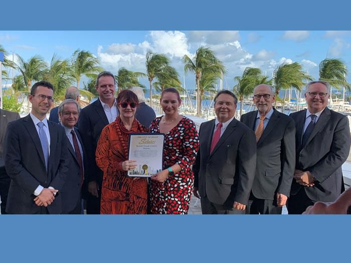 Miami World Trade Week team