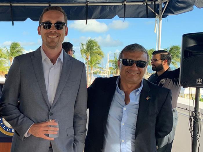 Eduardo Torres and Paul Griebel