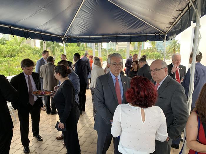 Miami World Trade Month events Reception at Miami City Hall