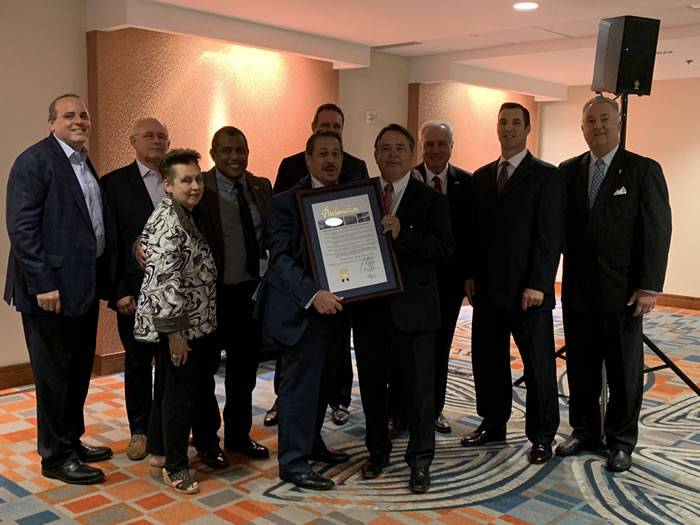 Miami World Trade Month Committee with Commissioner Diaz and World Trade Month Proclamation