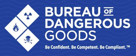 Bureau of Dangerous Goods logo