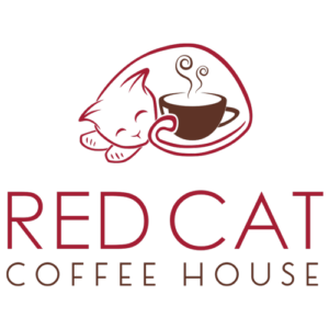 Red Cat Coffee House logo