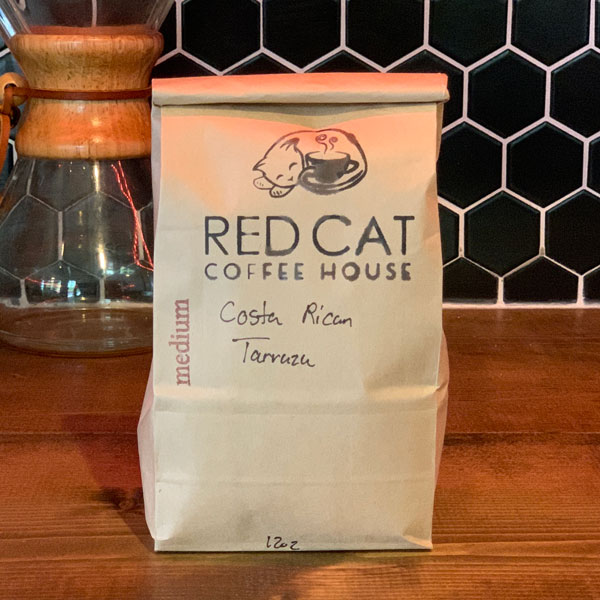 Red Cat Costa Rican Tarazu Coffee