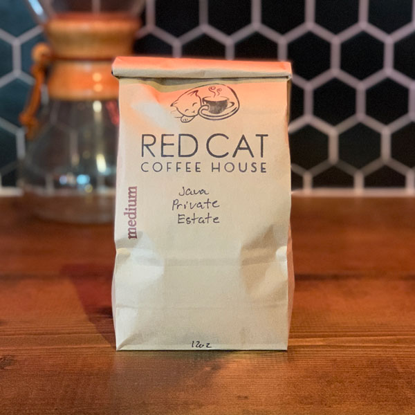 Red Cat Java Private Estate Coffee