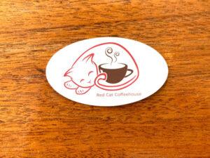 Red Cat Sticker