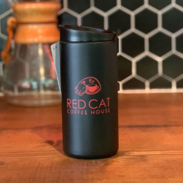 Red Cat 12oz Tumbler