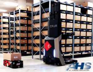 DC velocity - AHS supporting a Caja installation at a distribution center in Moreno Valley​