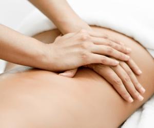 Massage hands image