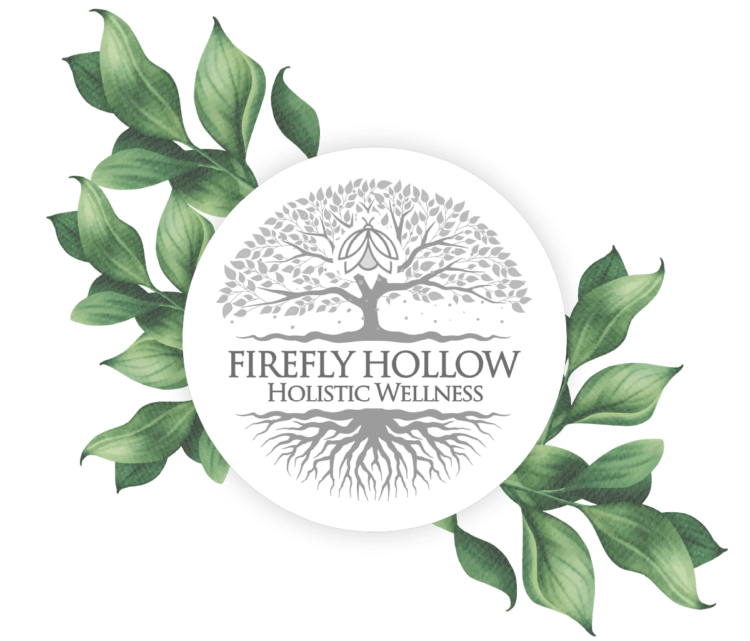 Holistic Wellness & Massage York Logo with leaves
