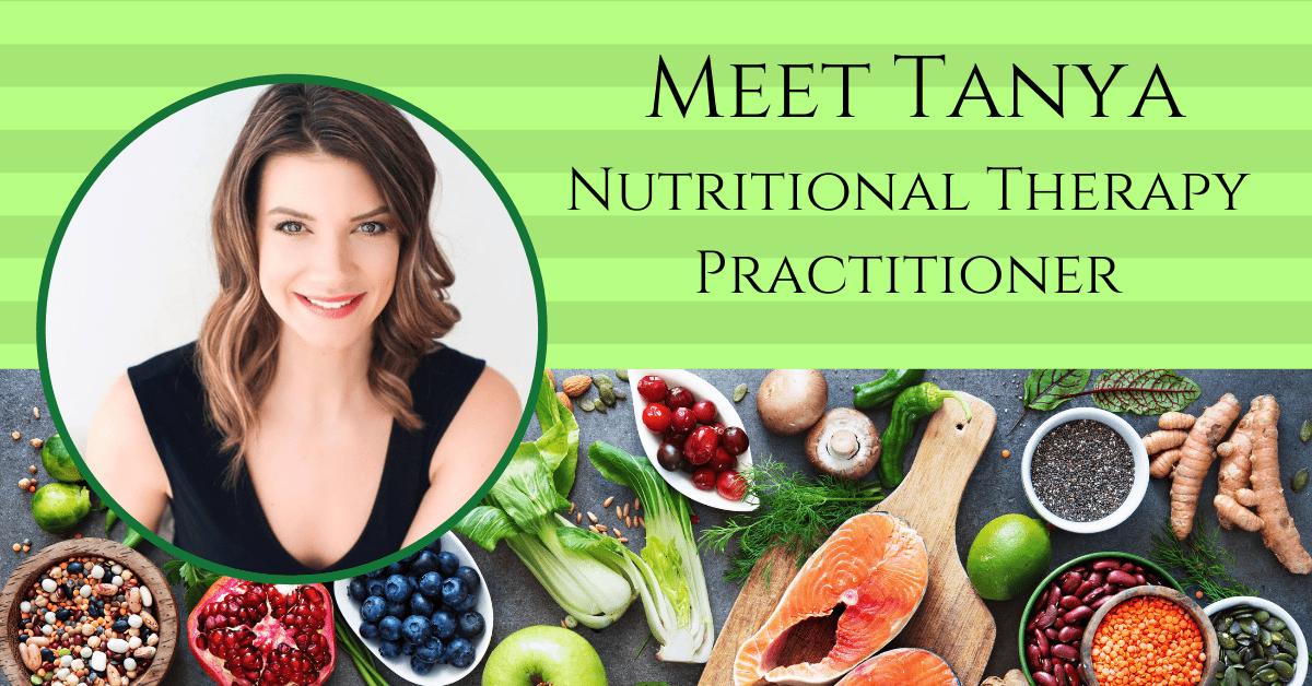 Healthy Food & Tanya Jarrett Photo
