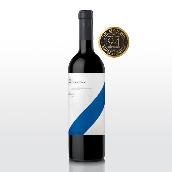 D.J. Mastrantonio Red Blend 2015 - Premio TimAtkin 2020 - Best of Argentina