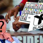 No será posible votar En. Blanco