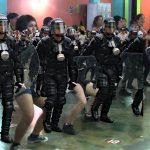 Fiesta de integración del Esmad termina en disturbios
