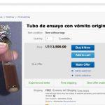 En Ebay subastan vómito de Messi