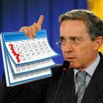 Uribe propone eliminar el domingo y dormir 6 horas