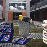 Por error, colegio utiliza tabletas de MinTic para entabletar patio