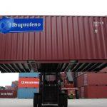 Llega contáiner de Ibuprofeno con el que EPS harán frente al Ébola en Colombia