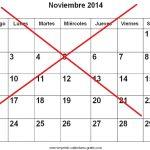 Es oficial: este año no habrá noviembre
