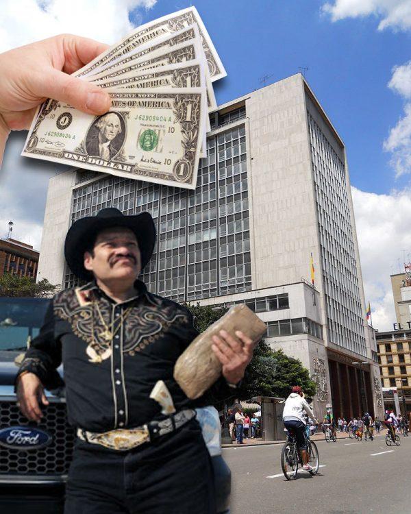 El alza del dólar de los últimos días ha mejorado los ingresos de los narcos.