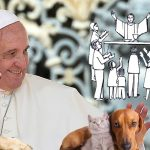 Papa Francisco pide no rechazar a perros en misa