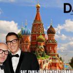 Tras declaraciones homofóbicas, Dolce&Gabbana se va a Moscú y se llamará Dolcovna&Gabbanovna