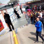 Colados de Transmilenio protestarán por nuevas puertas