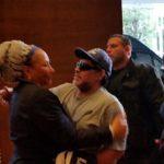Por un trancón, Maradona no llega a marcha por la paz