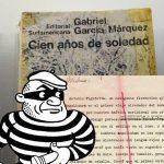 Devuelven el ejemplar robado de «Cien años de soledad»,pero con correcciones