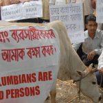 Pueblo indio protesta por crueldad animal en Colombia