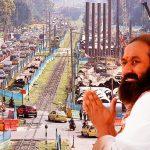 Gurú Ravi Shankar conoce el estrés en visita a Bogotá