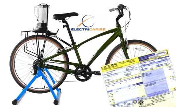 las bicicletas de electricaribe posibilitarán a los usuarios generar su propia energía para no depender de las obsoletas redes de la compañía.