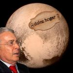«Llegada de nave a Plutón es obra de la Far», Uribe