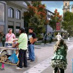 «Ambulantes ya estaban en el render, no molesten», dice IDU sobre séptima peatonal