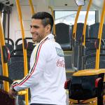 Falcao pide no ir sentado en el bus de la selección