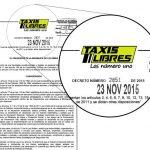 Decreto de Uber salió con membrete de Taxis Libres