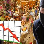 Ladrones del país preocupados por las bajas compras en navidad
