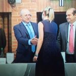 Fiscal condecora a Natalia Springer