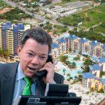 Santos cae en broma telefónica y compra tiempo compartido
